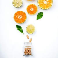 A C-vitamin felerősíti a folyékony gomba kivonatok hatékonyságát