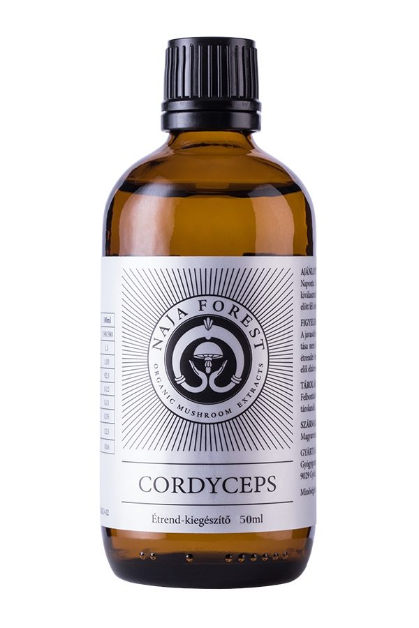 cordyceps bio folyékony gombakivonat(50ml)
