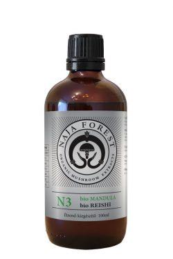 Naja Forest N3 bio Mandula, bio Reishi Étrend-kiegészítő (100ml)