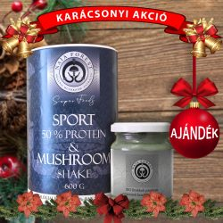 Sport & Mushroom Shake karácsonyi akció