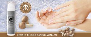 Bioaktív kézkrém mandulagombával