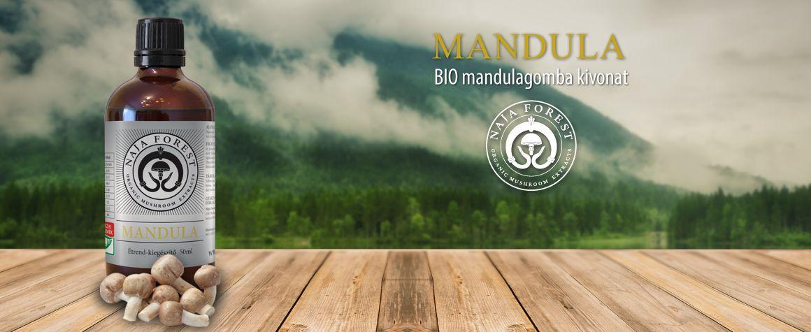Naja Forest bio Mandula Étrend-kiegészítő