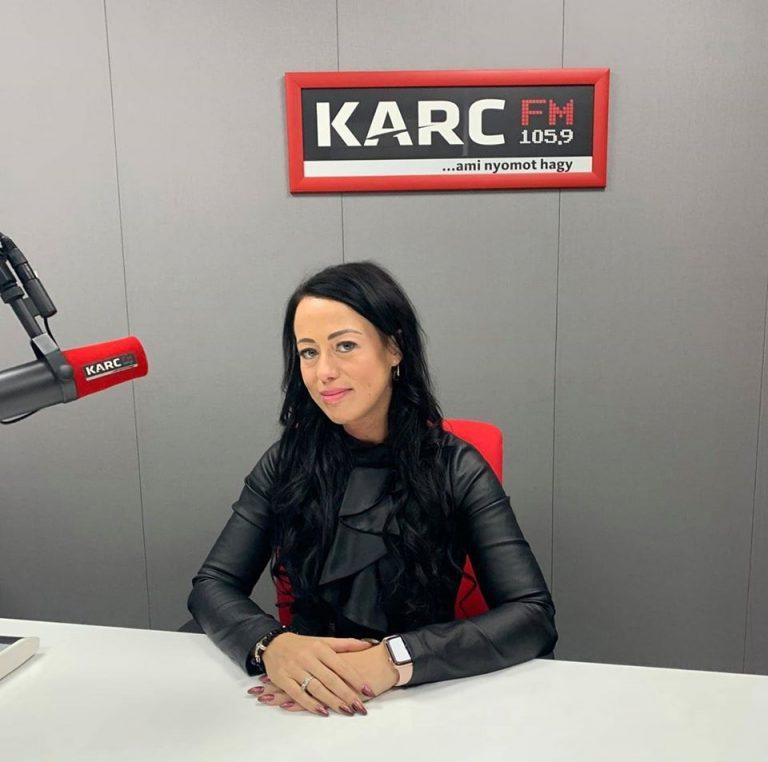 Karc Fm Szabó Nikolett interjú