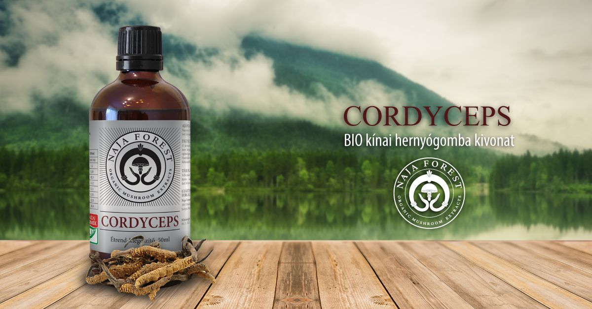 Naja Forest bio Cordyceps Étrend-kiegészítő