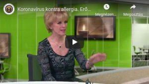 Koronavírus kontra allergia. Erősítsük vagy ne immunrendszerünket? 2. rész