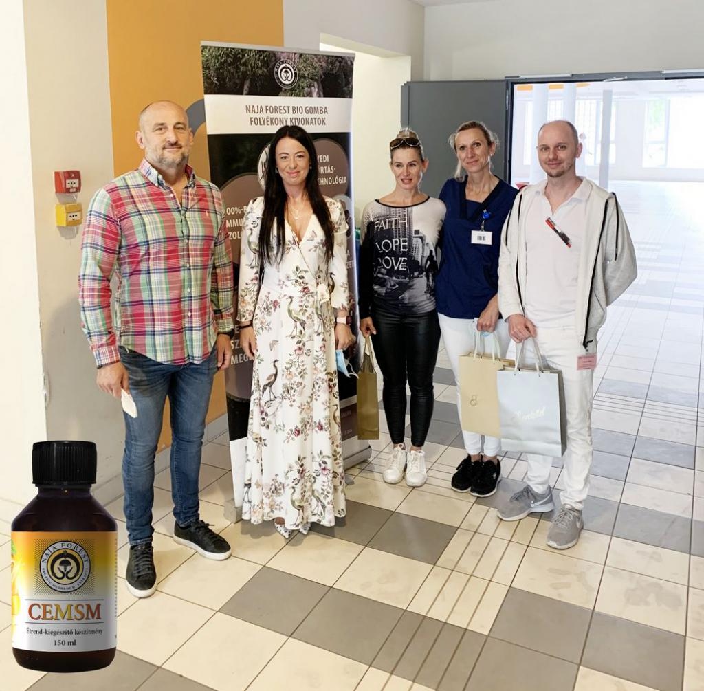 CEMSM adomány a győri Petz Aladár Megyei Oktatókórház Baleseti Osztályának