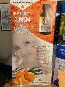 Szlovák partnerünk korháznak adományozott Naja Forest CEMSM termékeket