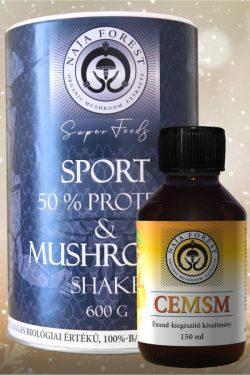 Sport & Mushroom Shake és CEMSM