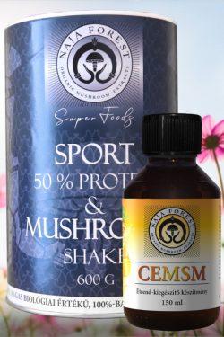Egészséges Testsúly Uraknak: Sport & Mushroom Shake és CEMSM