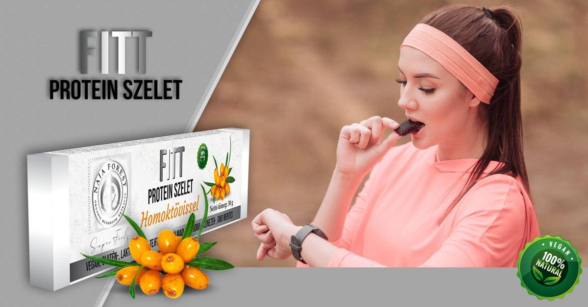 """Homoktövises """"FITT"""" gyümölcs szelet"""