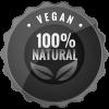 Vegán termék, 100%-ban természetes